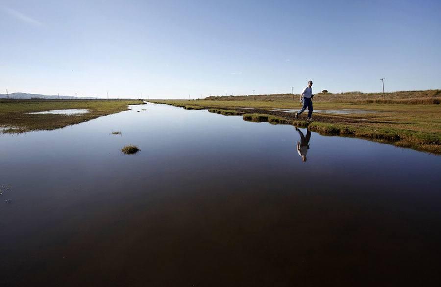 California's Sinking Island