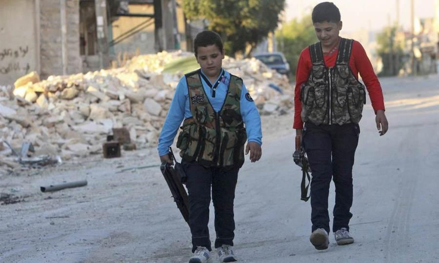 Child Soldiers Syrian Civil War
