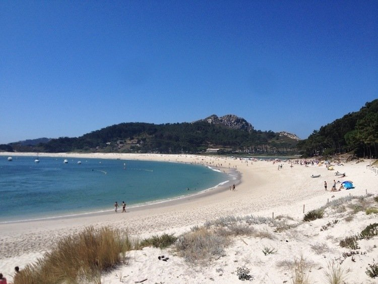 Cies Islands Rodas Beach