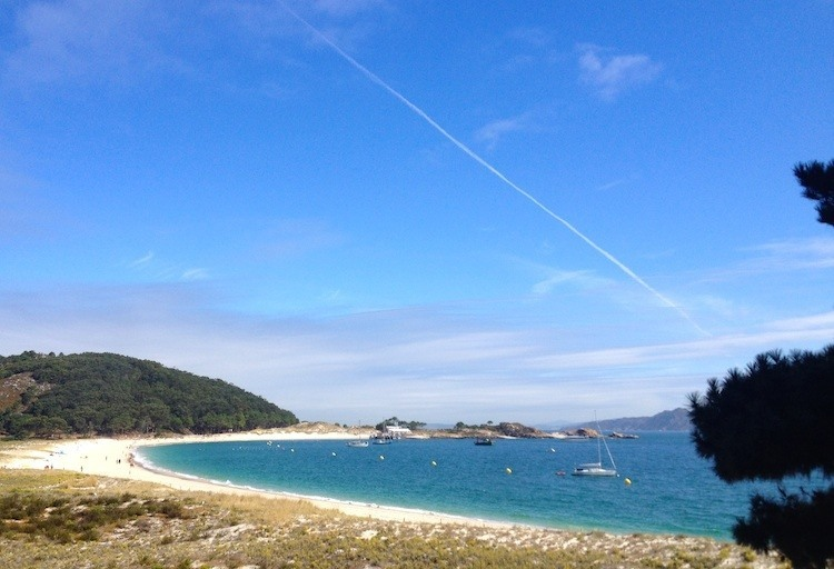 Cies Islands Sand Beach