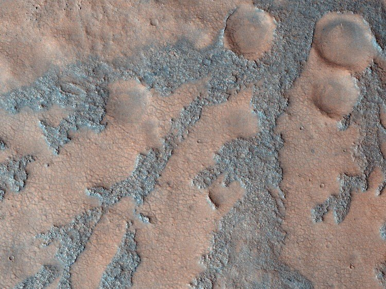 Martian Craters