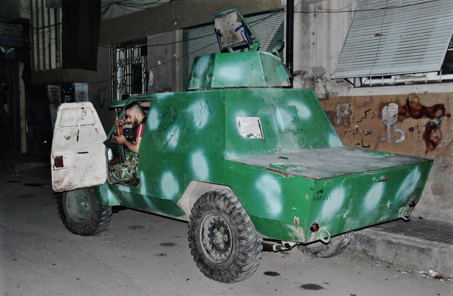 Converted Armored Combat Vehicle