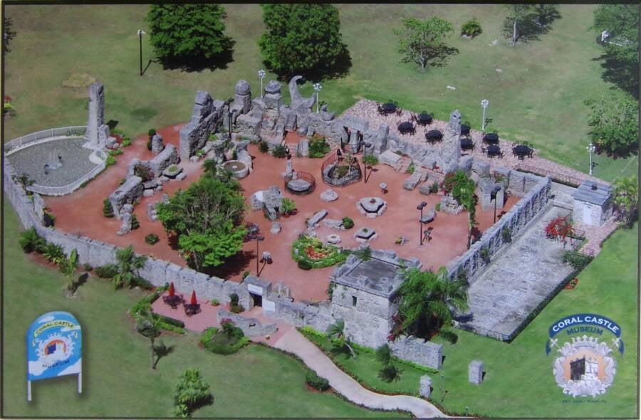 Coral Castle Map