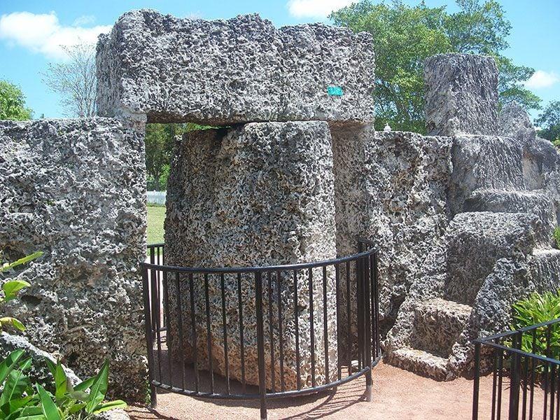 Coral Castle Revolving Gate