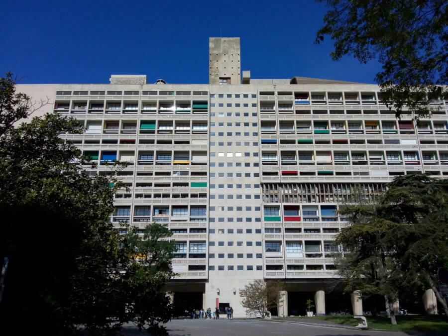 Brutalist Unite Habitation Marseille