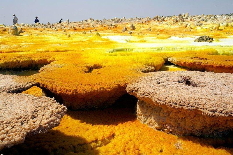 Danakil Geological Activity