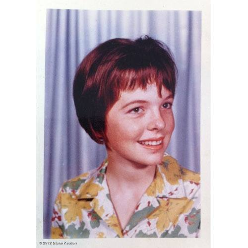 Diane Keaton Celebrity Yearbook Photos