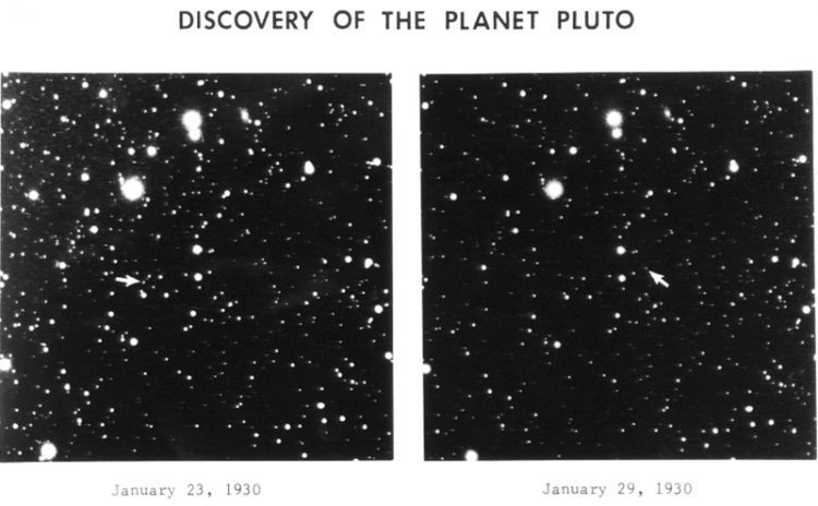 Discovery Of Pluto in 1930