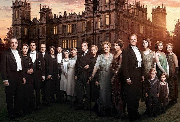 Downton Abbey Series 6 History.
