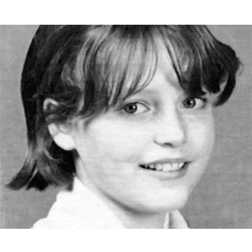 Gillian Anderson School Yearbook Picture