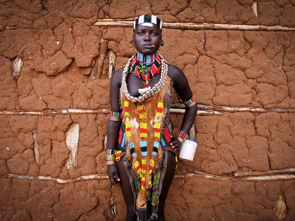 Hamar Portrait Ethiopia