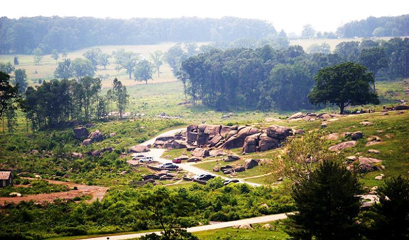 Historic Battlefields Devils Den