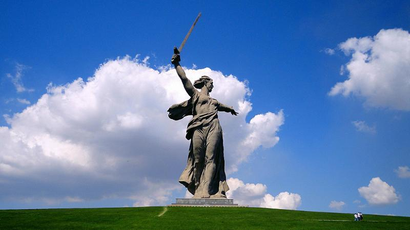 Historic Battlefields Motherland Statue