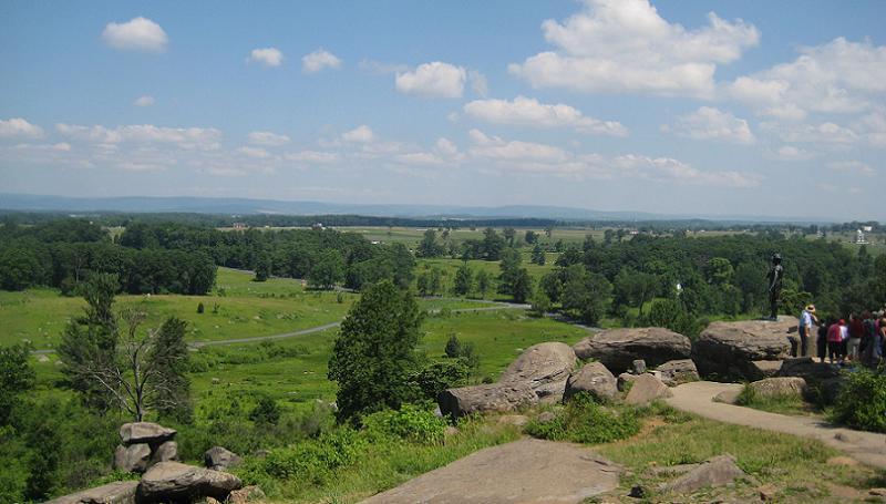 Historic Battlefields Round Top2