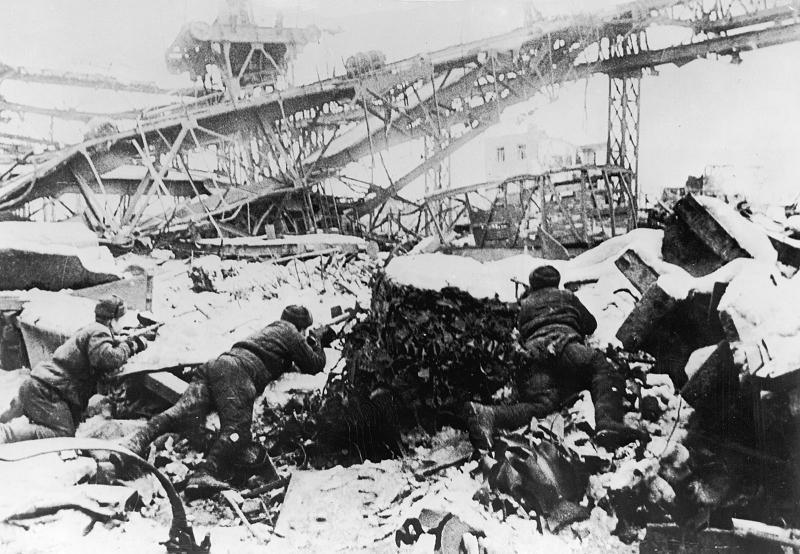 Historic Battlefields Stalingrad Railyard