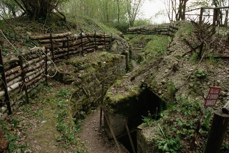 German Trench And Bunker