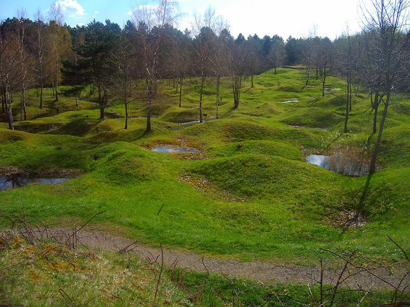 Historic Battlefields Verdun Craters