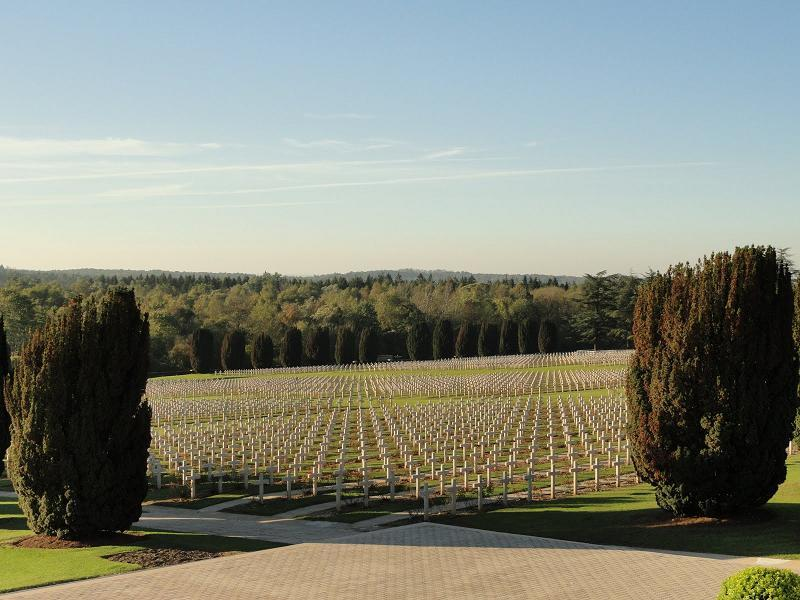 Historic Battlefields Verdun Graveyard