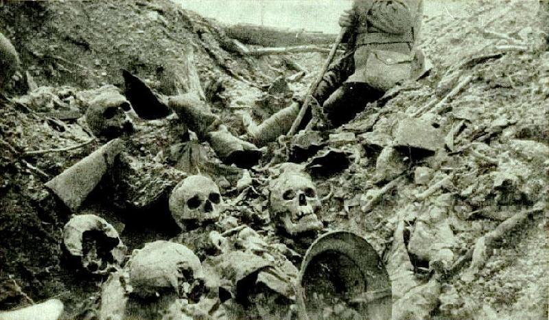 Historic Battlefields Verdun Skulls