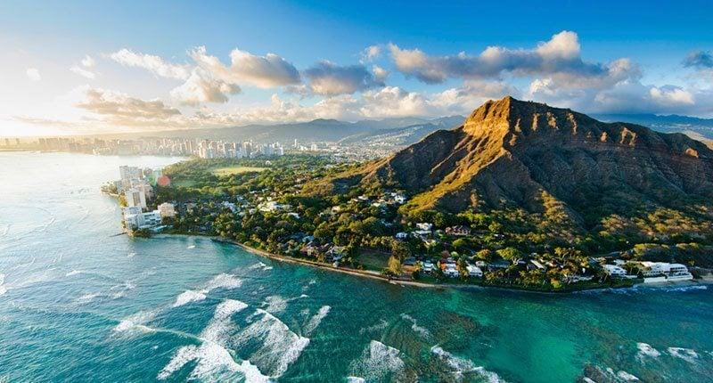 History Hawaii Aerial