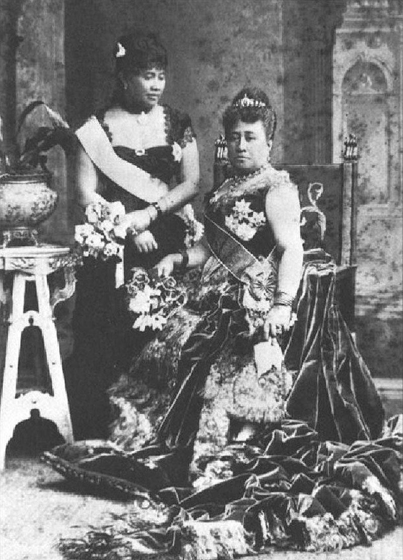 History Hawaii Liliuokalani Kapiolani