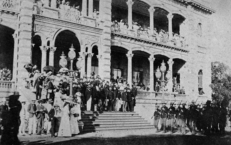 History Hawaii Sanford Dole 1898