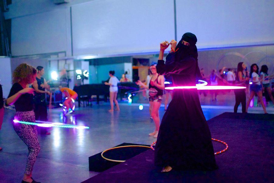 Hula Hooping In Dubai