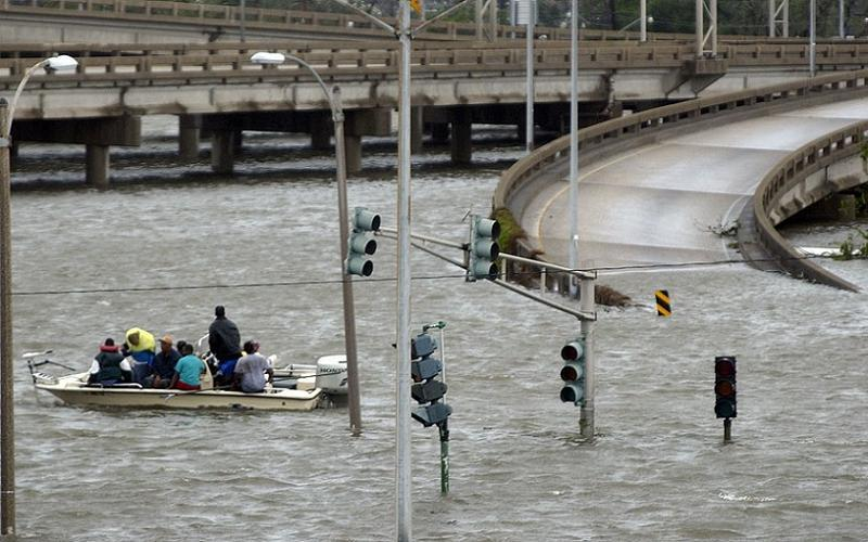 Hurricane Katrina Civilian Boat