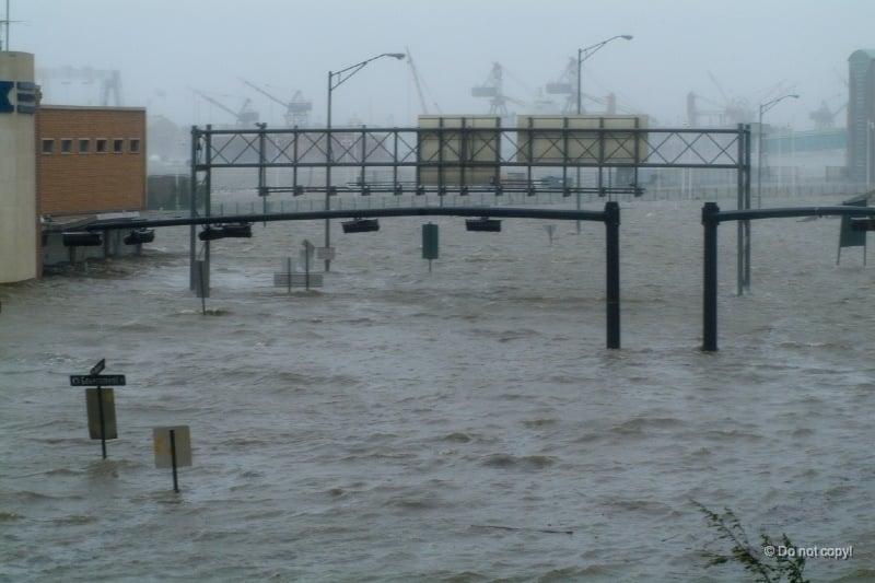 Hurricane Katrina Flooded Mobile