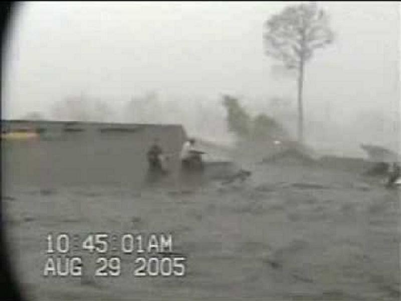 Hurricane Katrina People Caught