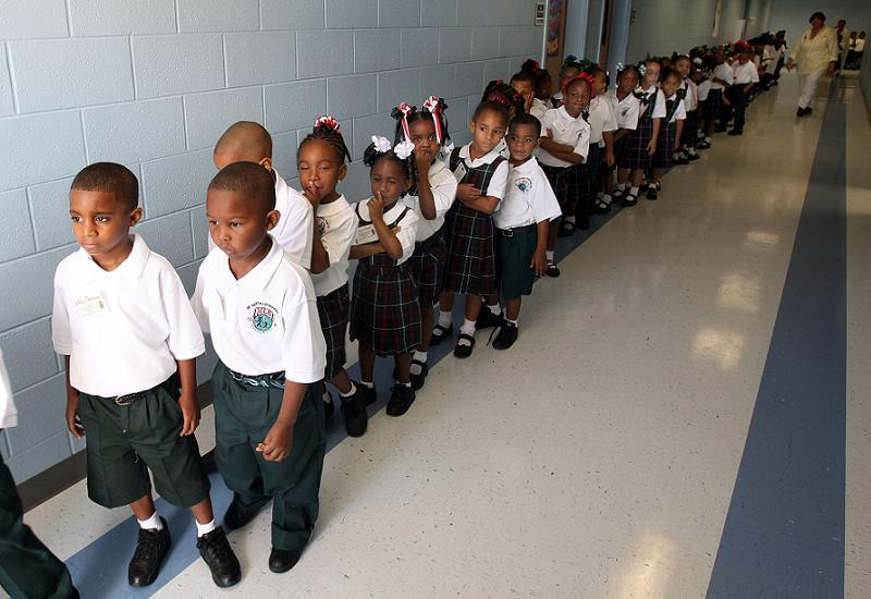 Ninth Ward Kindergarten Re Opens Two Years After Hurricane Katrina
