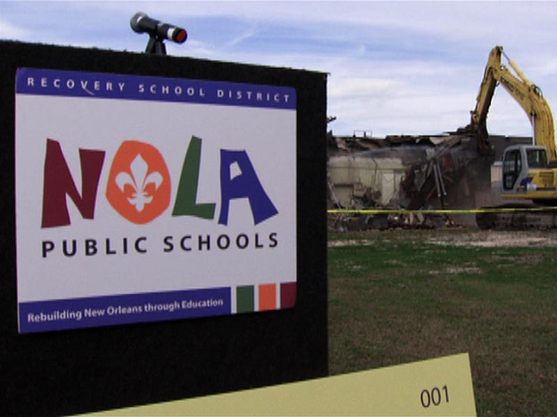 Hurricane Katrina School Demolished