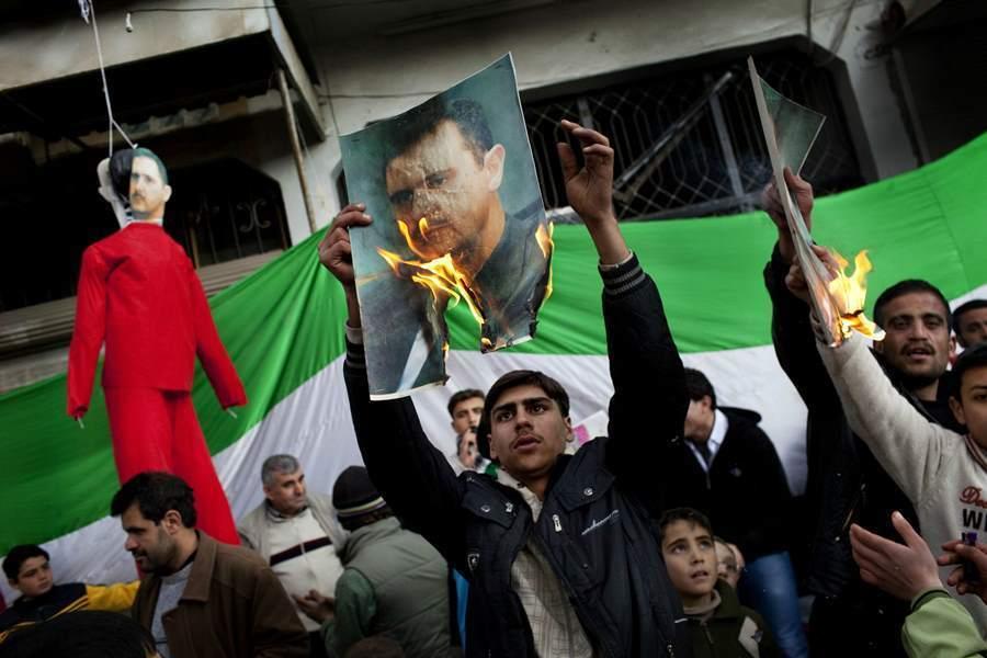 Idlib Protests