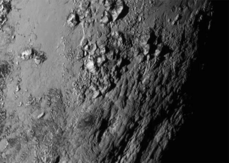 Clyde Tombaugh Pluto Surface