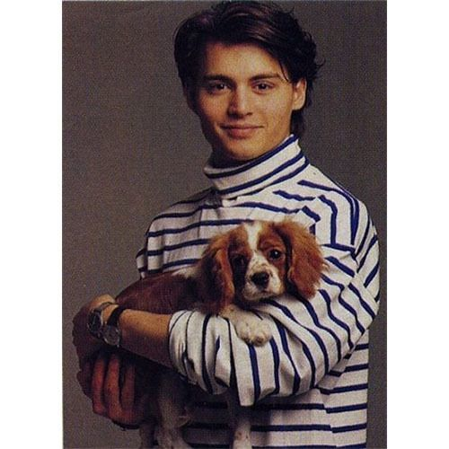 Johnny Depp School Yearbook Photo