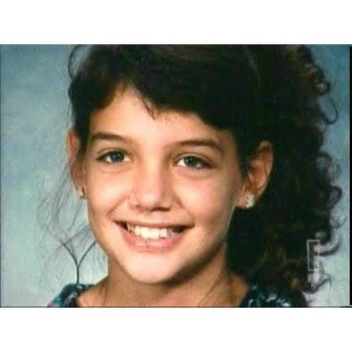 Katie Holmes Yearbook Photo