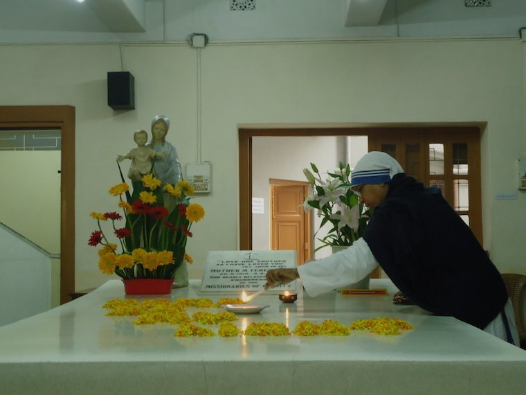 Mother Teresa's Grave