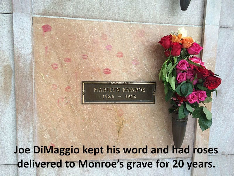 Marilyn Monroe Facts Grave