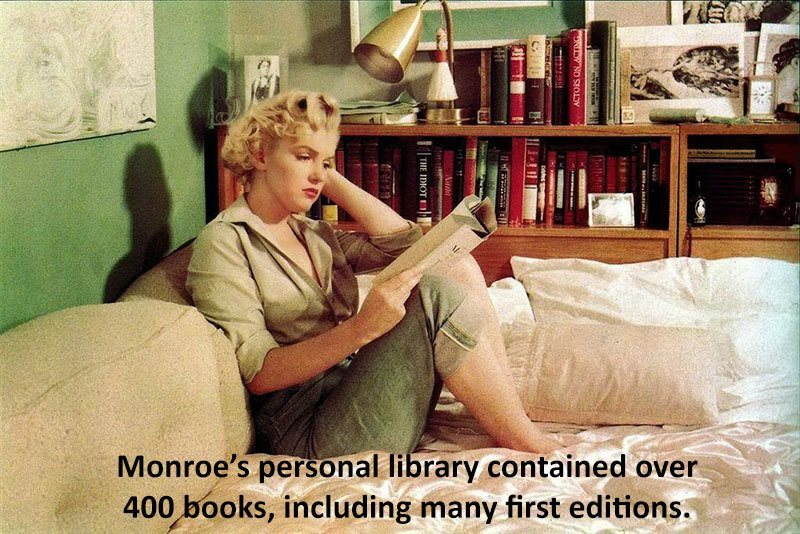 Marilyn Monroe Facts Library
