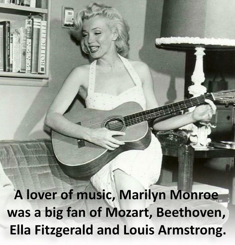 Marilyn Monroe Facts Music