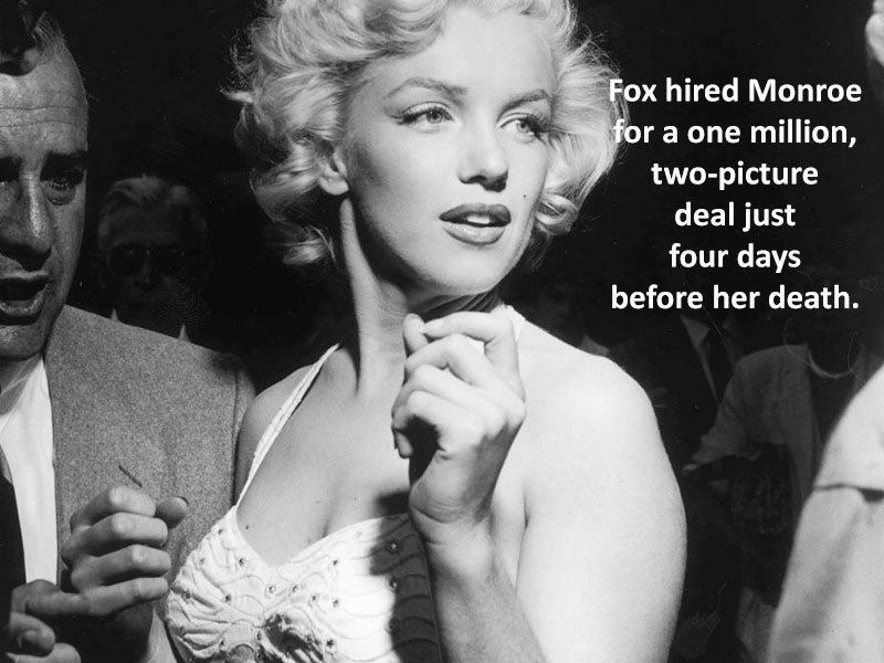 Marilyn Monroe Facts Rich