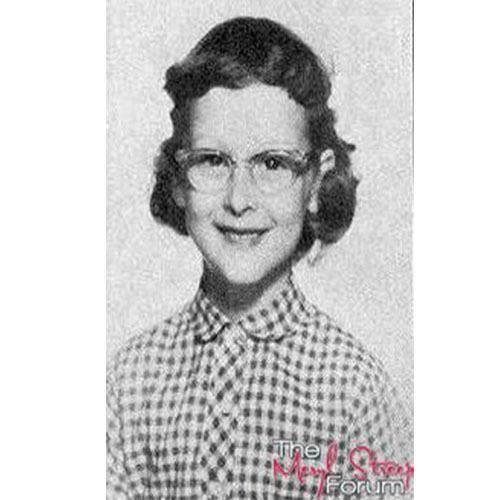 Vintage Celebrity Yearbook Photos