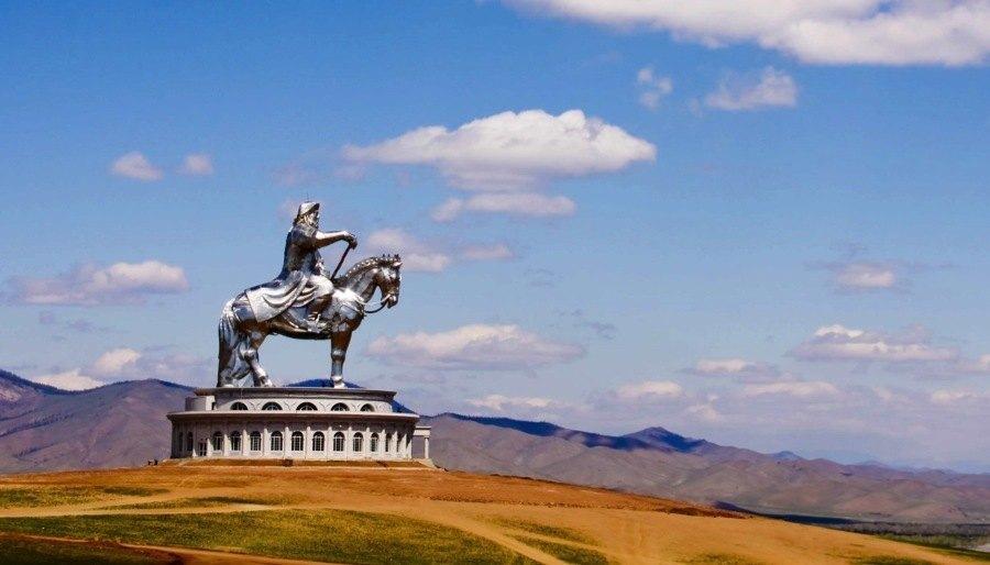 Mongolia Genghis Khan Horse Statue