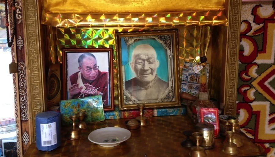 Mongolia Nomads Family Shrine