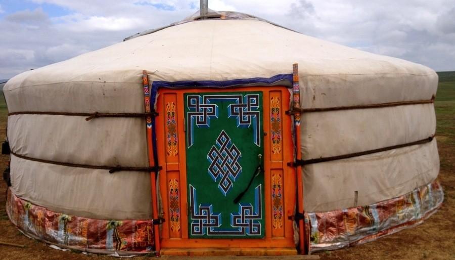 Mongolia Nomads Ger Door