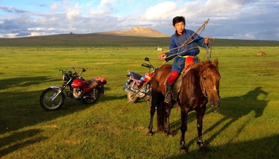 Mongolia Nomads Horse Rider