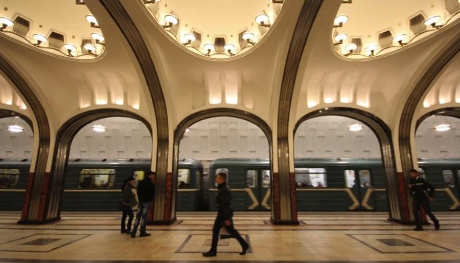 Moscow Metro Mayakovskaya Station