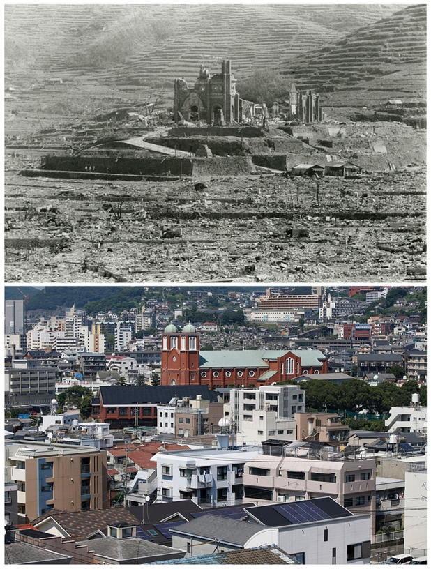 Nagasaki Bombing Vs Today