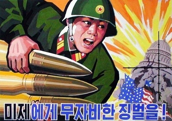 North Korean Propaganda Attack