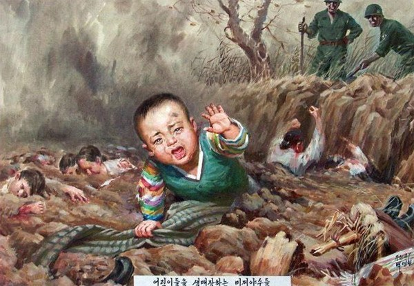 North Korean Propaganda Baby